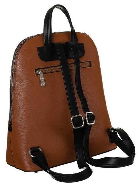 Plecak damski koniakowy David Jones 6509-1 COGNAC