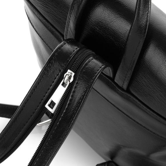 Plecak damski skórzany Paolo Peruzzi Z-03-PP brązowy