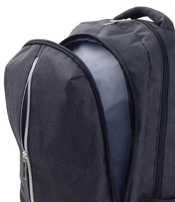Plecak męski czarny Rovicky NB9761-4429 BLACK