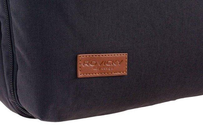 Plecak męski szara Rovicky NB9764-4344 GRAY