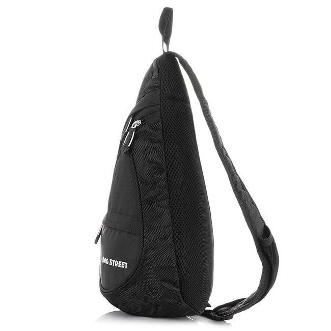 Plecak sportowy na jedno ramię czerwony Bag Street 4388