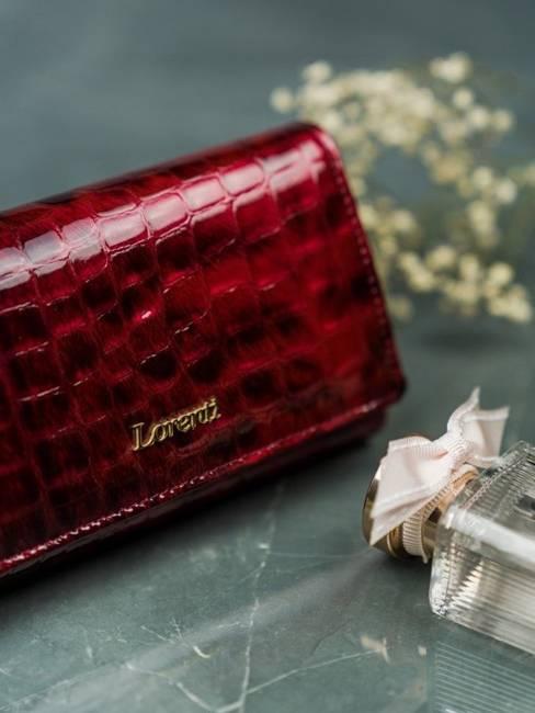 Portfel damski Lorenti czerwony 72037-PT RED