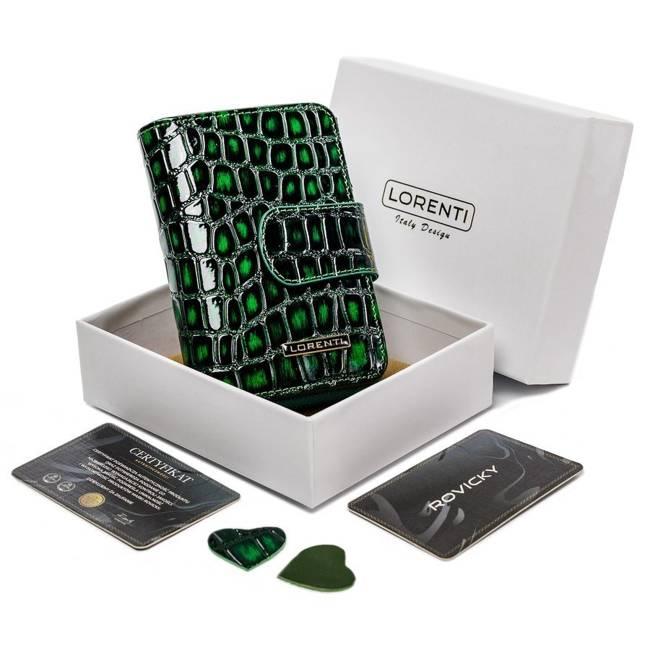 Portfel damski Lorenti zielony 76115-ZS-0314 GREEN