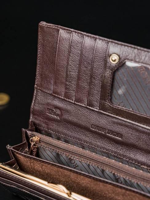 Portfel damski Rovicky czarny 8801-JXW BLACK