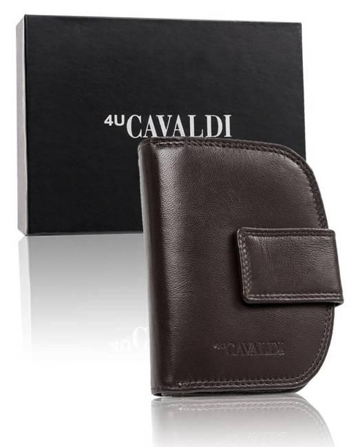 Portfel damski brązowy Cavaldi  RD-DB-06-GCL-7306 D.