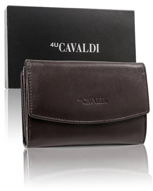 Portfel damski brązowy Cavaldi  RD-DB-10-GCL-5920 D.