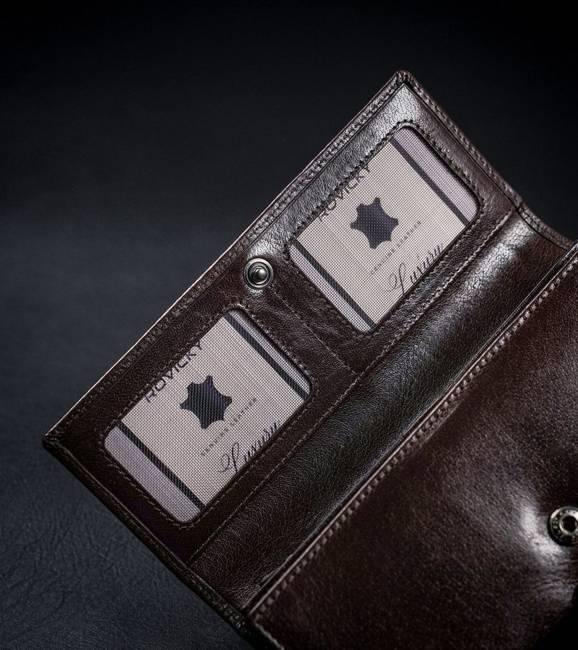 Portfel damski brązowy Rovicky CPR-8787-BAR-6835 BR