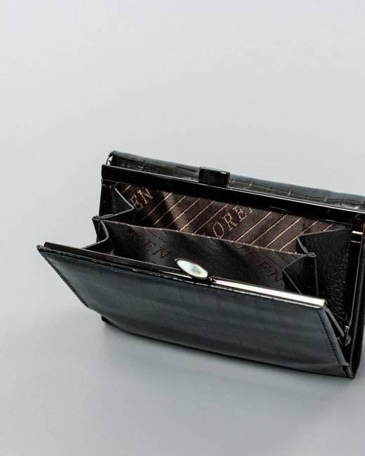 Portfel damski czarny Lorenti 55282-SP BLACK