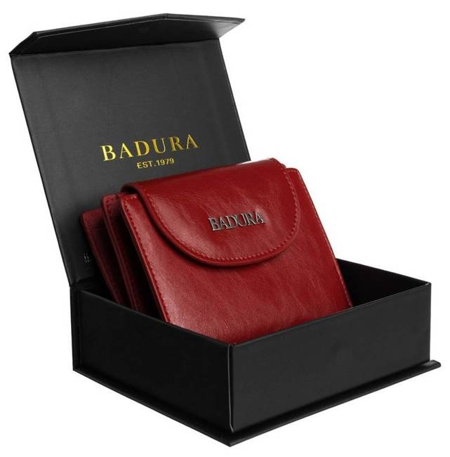 Portfel damski czerwony Badura B-41373P-BPR