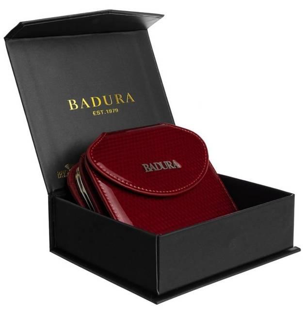 Portfel damski czerwony Badura B-55180P-SBR