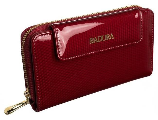 Portfel damski czerwony Badura B-8808P-SBR RED