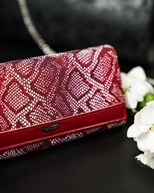 Portfel damski czerwony CAVALDI  GD24-11 RED