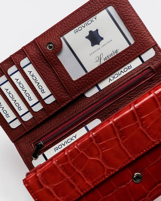 Portfel damski czerwony Cavaldi  PX28-CR-0635 RED