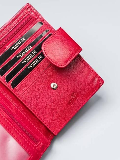 Portfel damski czerwony Cavaldi RD-05-GCL RED