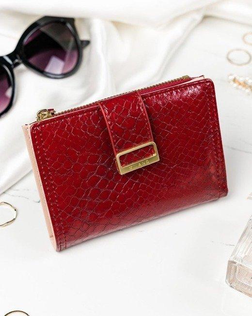 Portfel damski czerwony Milano Design K1210-SN-7206 RED