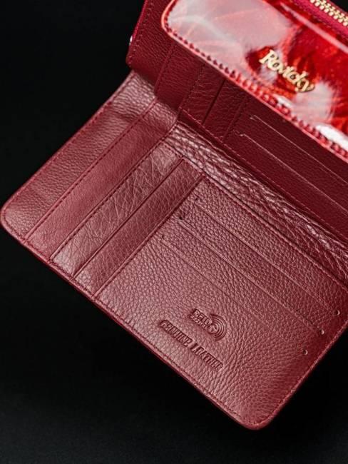 Portfel damski czerwony Rovicky 8808-JXW RED