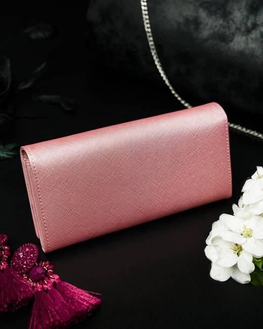 Portfel damski różowy CAVALDI GD20-16 PINK