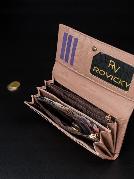 Portfel damski różowy Rovicky 8802-YMA PINK