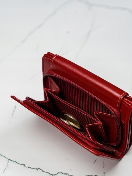 Portfel damski skórzany Lorenti RD-01-BAL czerwony