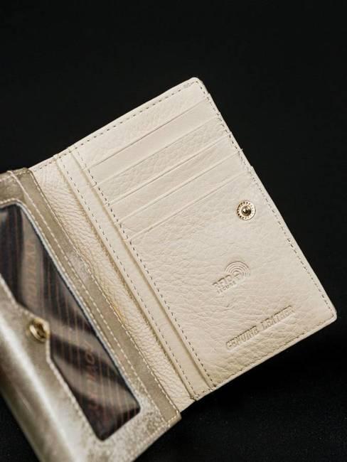 Portfel damski srebrny Rovicky 8804-YMA SILVER