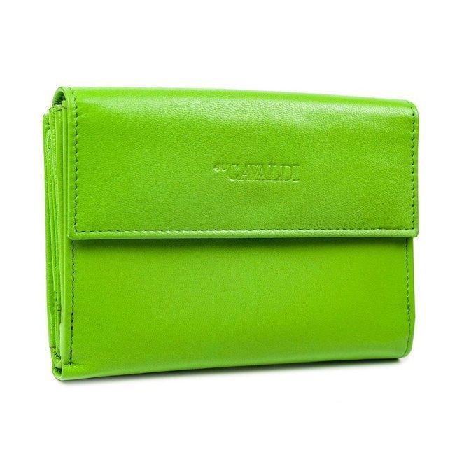 Portfel damski zielony Cavaldi RD-03-GCL MINT