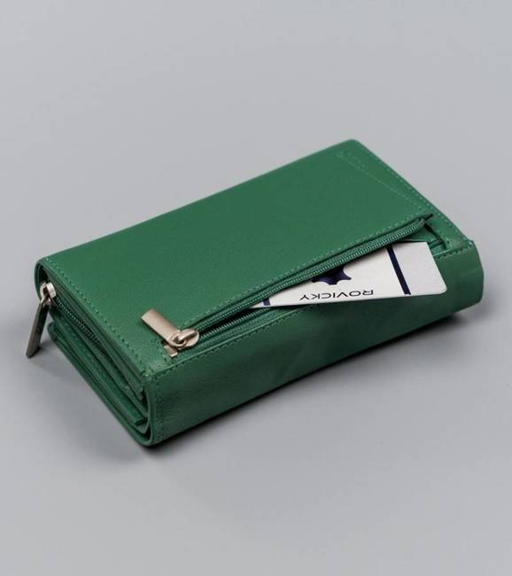 Portfel damski zielony Cavaldi RD-B55-GCL-8669 TURQ