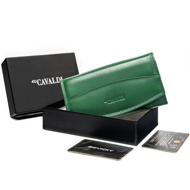 Portfel damski zielony Cavaldi RD-BF-06-GCL-8683 TU