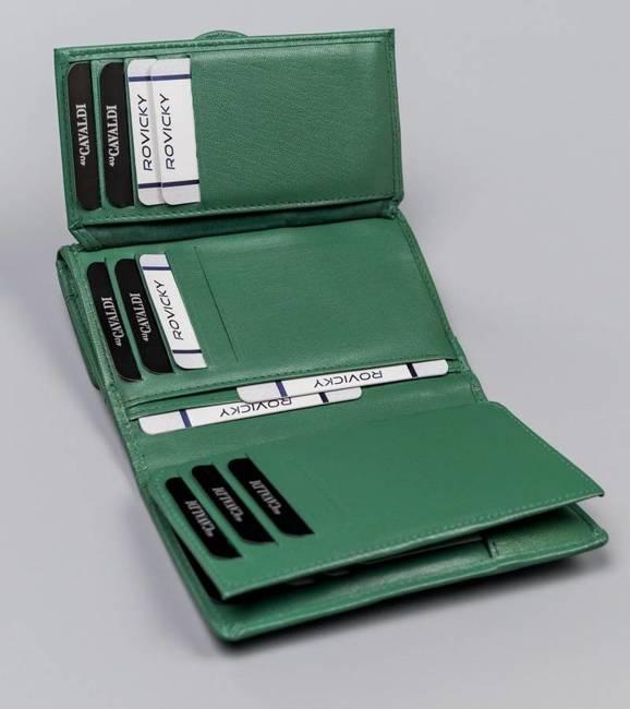 Portfel damski zielony Cavaldi RD-DB-10-GCL-8768 TU