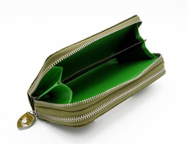 Portfel damski zielony Cavaldi #YX-04-10 GREEN