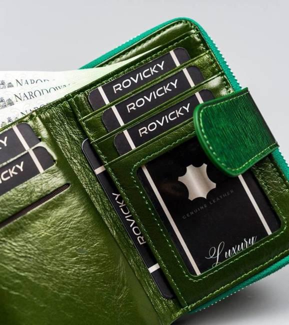 Portfel damski zielony Lorenti 76115-SH-1691 GREEN
