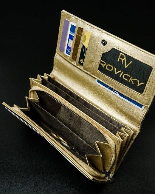 Portfel damski złoty CAVALDI GD20-11 GOLD