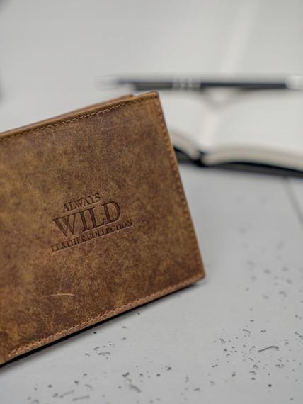 Portfel męski brązowy Always Wild N992-GTH BROWN
