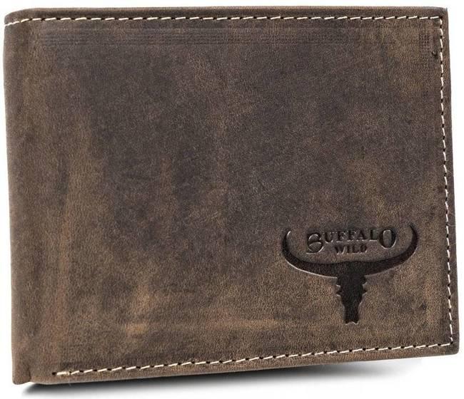 Portfel męski brązowy Buffalo Wild RM-05-HBW BROWN