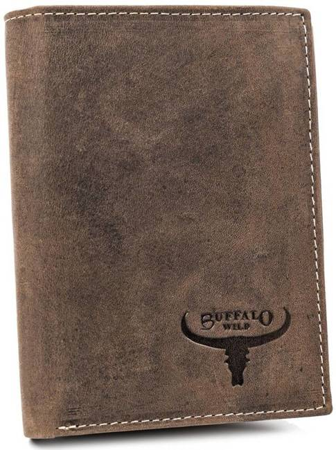 Portfel męski brązowy Buffalo Wild RM-06-HBW BROWN