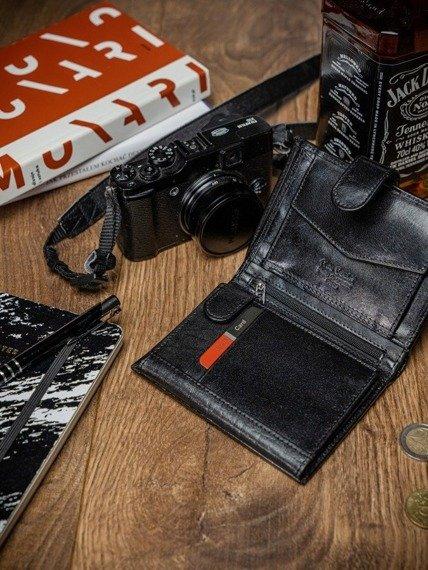 Portfel męski czarny PIERRE CARDIN YS507.1 326A NERO