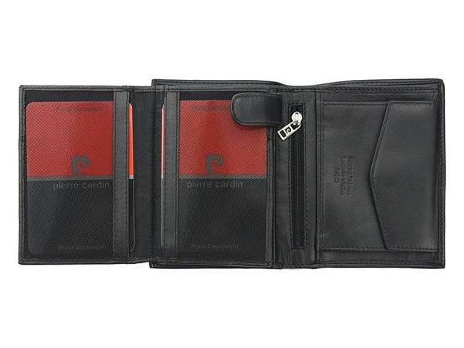 Portfel męski czarny Pierre Cardin  326 TILAK09 NERO
