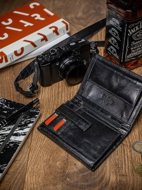 Portfel męski czarny Pierre Cardin 330 YS507.1 NERO RFI