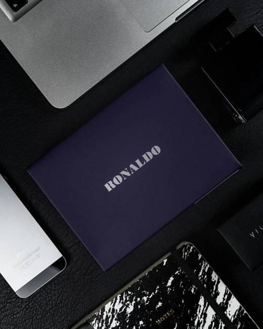 Portfel męski czarny Ronaldo N4-NYC-RON-1427 BLAC
