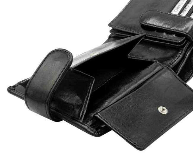 Portfel męski czarny Rovicky  GWR-01-ARI-9317 BLAC