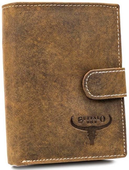 Portfel męski j. brązowy Buffalo Wild RM-03L-HBW TAN