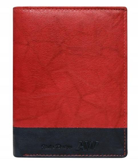 Portfel męski skórzany Always Wild N4-GA czerwony