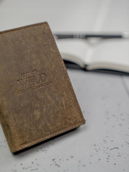 Portfel męski skórzany Always Wild N4-GTH brąz