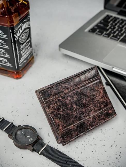 Portfel męski skórzany Always Wild N992-DIS brąz