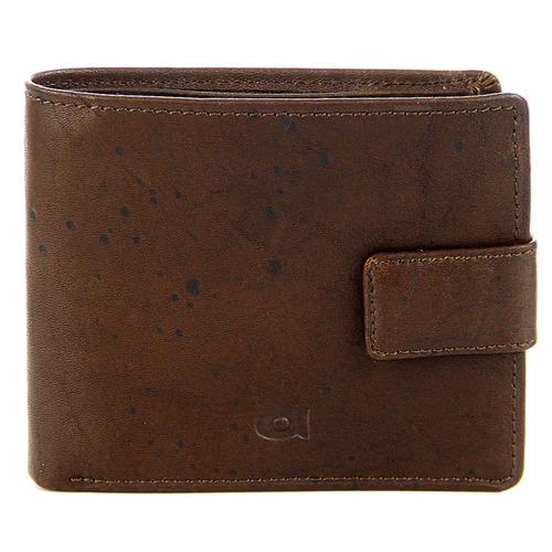 Portfel skórzany DAAG Alive P-05 vintage brązowy w pudełku