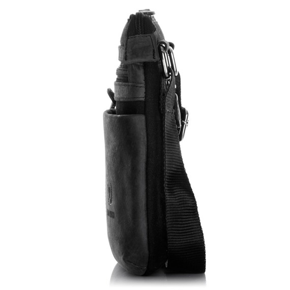 Saszetka męska skórzana torba Paolo Peruzzi 501-PP granatowa