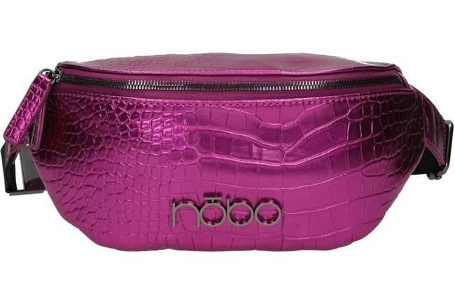 Saszetka nerka różowa  Nobo NBAG-K4130-C004