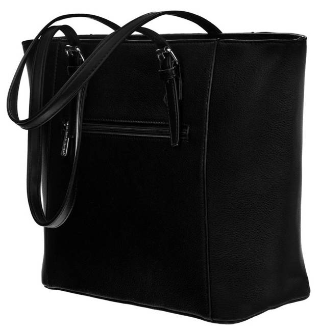 Shopper bag czarny David Jones 6531-4A BLACK