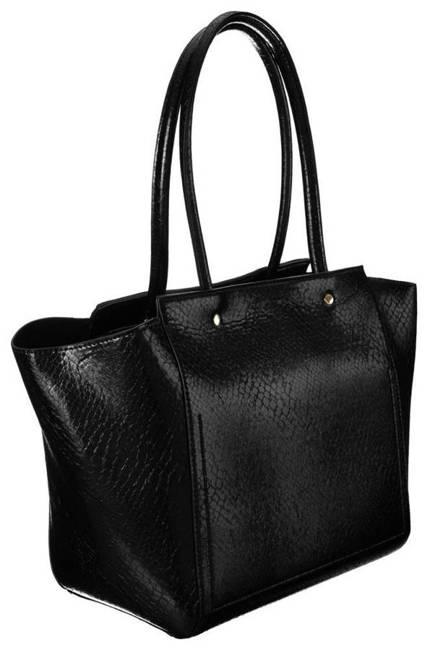 Shopper bag czarny Monnari BAG2900-020