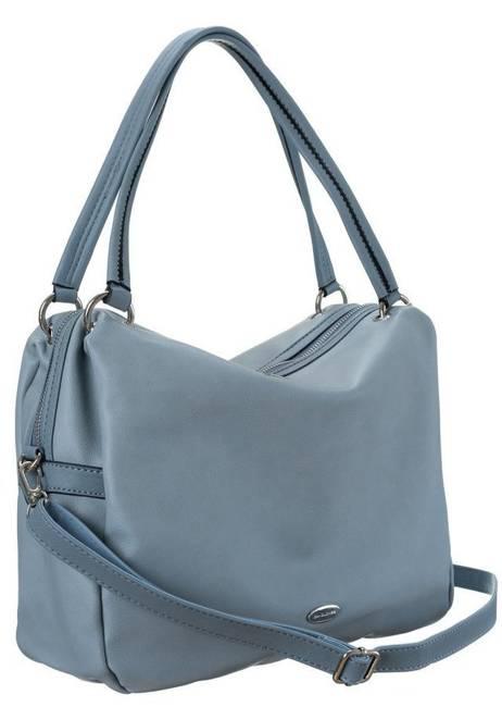 Shopper bag niebieski David Jones CM5665A PALG BLUE