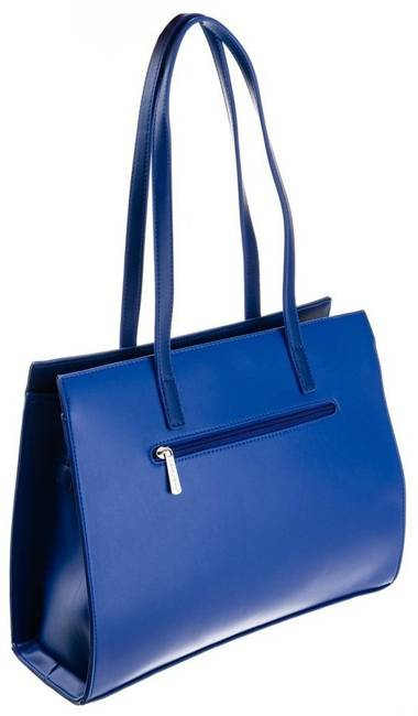 Shopper bag niebieski David Jones CM5677 BLUE